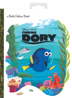 Golden Books Disney Finding Dory With Hang Tag Book