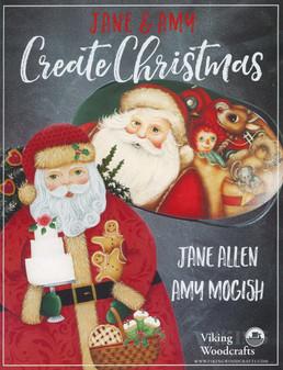 Viking Woodcrafts Jane & Amy Create Christmas Book