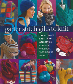 Sixth & Spring 50 Garter Stitch Gifts To Knit Book