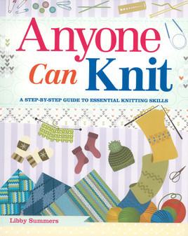 Skyhorse Anyone Can Knit Book