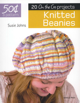 Search Press 20 One the Go Projects Knitted Beanies Book