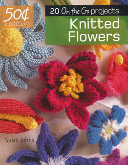 Search Press 20 On The Go Projects Knitted Flowers Book