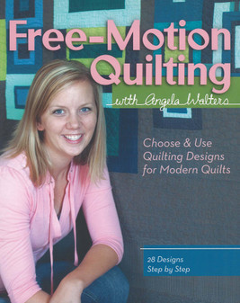 Stash By C&T Free Motion Quilting Book