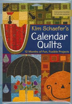 C&T Publishing Kim Schaefer's Calendar Quilts Book