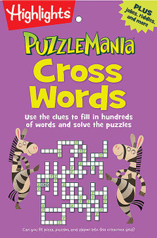 Highlights Puzzle Mania Cross Words Book