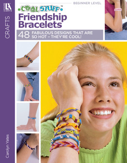 Leisure Arts Cool Stuff Friendship Bracelets Book