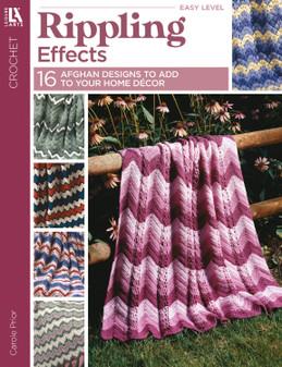 Leisure Arts Rippling Effects Crochet Book