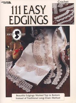 Leisure Arts 111 Easy Edgings Crochet Book