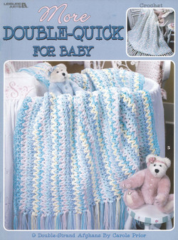 Leisure Arts More Double Quick For Baby Crochet Book