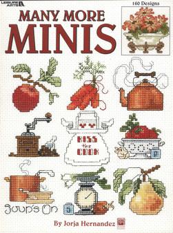Leisure Arts Many More Minis Cross Stitch Book