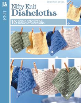 Leisure Arts Nifty Knit Dishcloths Book