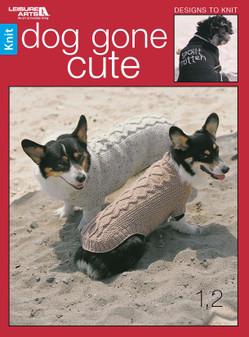 Leisure Arts Dog Gone Cute Book