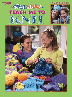 Leisure Arts Cool Stuff Teach Me To Knit Book