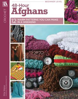 Leisure Arts Crochet 48-Hour Afghans Book
