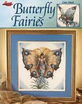Leisure Arts Butterfly Fairies Cross Stitch Book