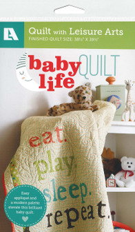 Leisure Arts Baby Life Quilt Pattern Pack