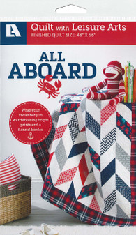 Leisure Arts All Aboard Quilt Pattern Pack