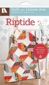 Leisure Arts Riptide Quilt Pattern Pack