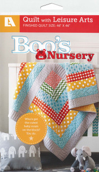 Leisure Arts Boo's Nursery Quilt Pattern Pack