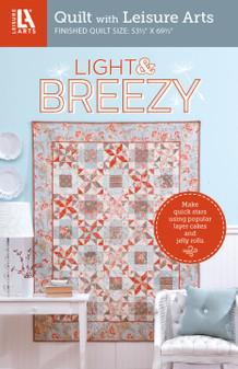 Leisure Arts Light & Breezy Quilt Pattern Pack