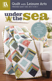 Leisure Arts Under The Sea Quilt Pattern Pack