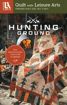 Leisure Arts Hunting Ground Quilt Pattern Pack