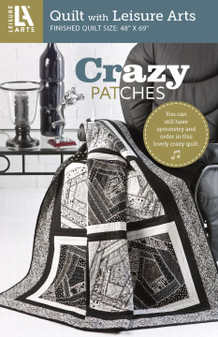 Leisure Arts Crazy Patches Pattern Pack