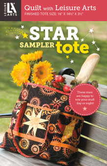 Leisure Arts Star Sampler Tote Quilt Pattern Pack