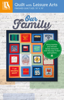 Leisure Arts Our Family Quilt Pattern Pack