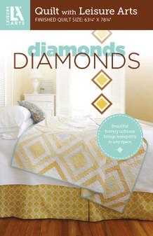 Leisure Arts Diamonds Quilt Pattern Pack