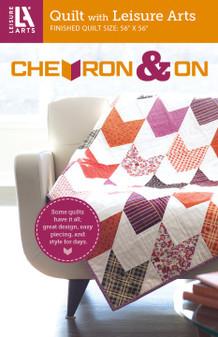 Leisure Arts Chevron & On Quilt  Pattern Pack
