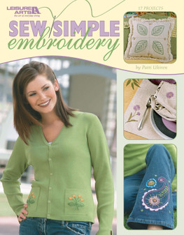 Leisure Arts Sew Simple Embroidery Book