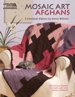 Leisure Arts Mosaic Art Afghans Book