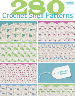 Leisure Arts 280 Crochet Shell Patterns Book