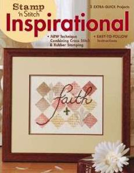 Leisure Arts Stamp 'N Stitch Inspirational Cross Stitch Book