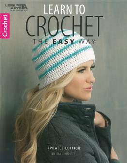 Leisure Arts Learn To Crochet The Easy Way Book