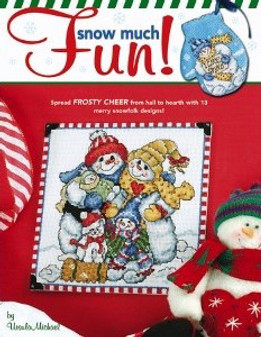 Leisure Arts Snow Much Fun Cross Stitch Book