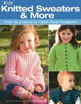 Leisure Arts Kids' Knitted Sweaters & More Book