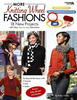 Leisure Arts More Knitting Wheel Fashions Book