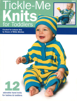 Leisure Arts Tickle Me Knits For Toddlers Book