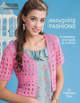 Leisure Arts Easygoing Fashions Crochet Book