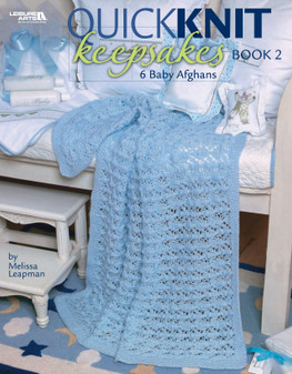 Leisure Arts Quick Knit Keepsakes 2 Book