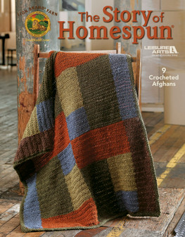 Leisure Arts The Story of Homespun Crochet Book