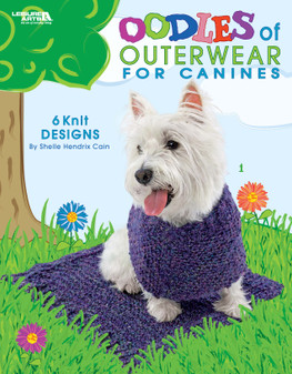 Leisure Arts Oodles of Outerwear For Canines Knit Book