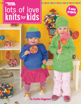 Leisure Arts Lots of Love Knits For Kids Book