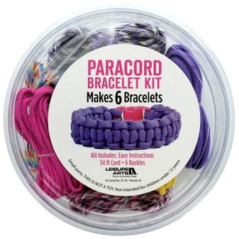 Leisure Arts Kit Paracord Kit Girl