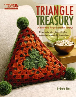 Leisure Arts Triangle Treasury Crochet Book
