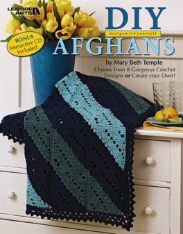 Leisure Arts Design It Yourself Afghans CD & Crochet Book