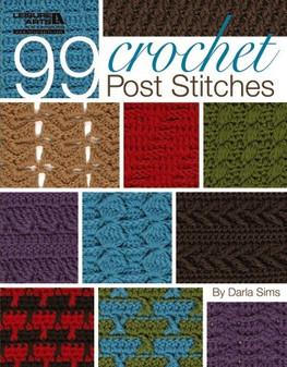 Leisure Arts 99 Crochet Post Stitches Book