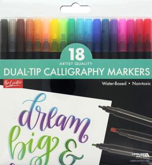 Leisure Arts Calligraphy Marker Set
